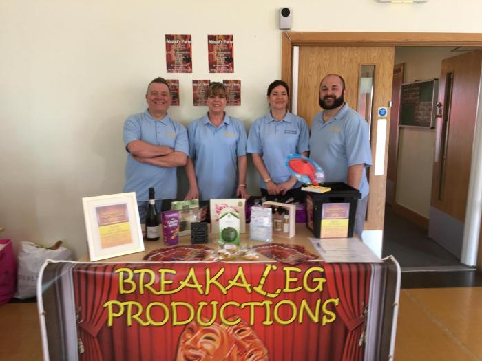 Team BALP at the Thorpe Hesley Trinity Community Centre Spring Fayre